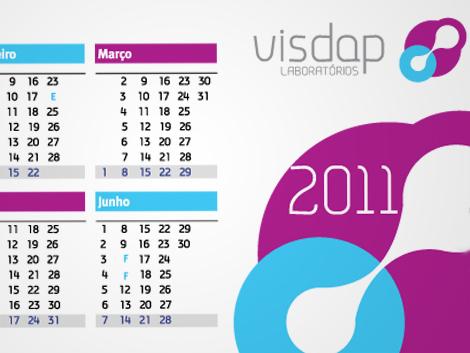 Calendário Visdap