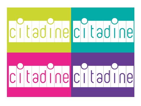 citadine brand id monocroma