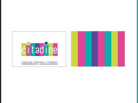 citadine cartões de visita