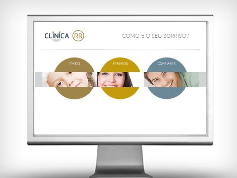 clínica website smile