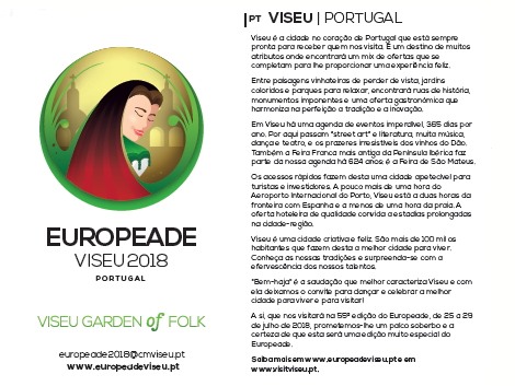 europeade flyer pormenor