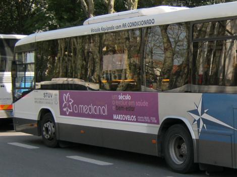 Publicidade em autocarro