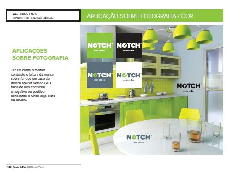 notch aplicações sobre fotografia