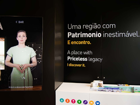 porto welcome center promotora virtual
