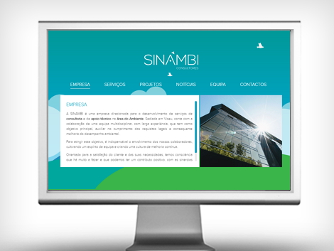 website sinambi empresa