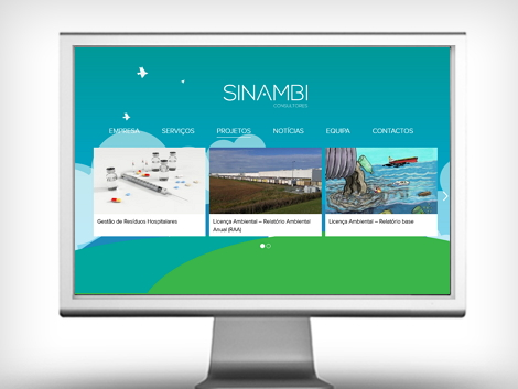website sinambi projetos