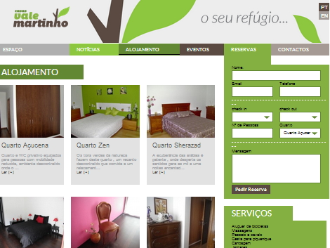 website vale martinho